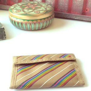 Handbags - Vintage Rainbow Wallet Pride Nylon Wallet
